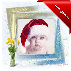 Baby-open-layer-photo-frame-banner